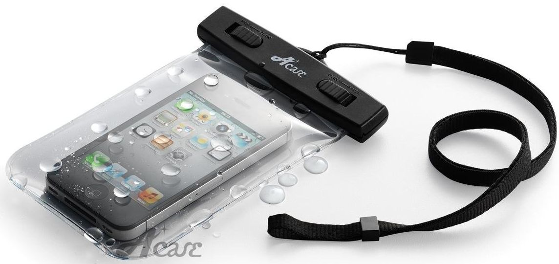 Acase 防水ケース クリア XL ストラップ 付 for iPhone6s