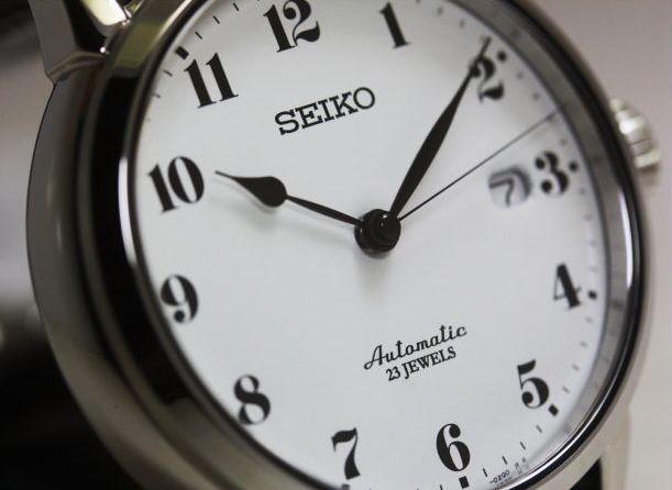 琺瑯 渡辺力 SEIKO セイコー 自動巻き腕時計 SARX027