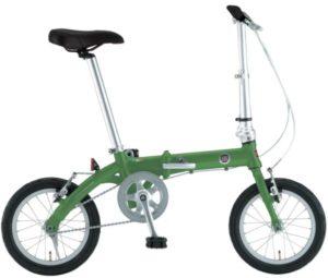 FIAT(フィアット) 軽量アルミ 14インチ コンパクト折りたたみ 小径自転車