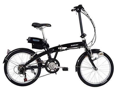 SUISUI(スイスイ) 軽量アルミフレーム電動アシスト折りたたみ自転車 KH-DCY03Sports 20インチ