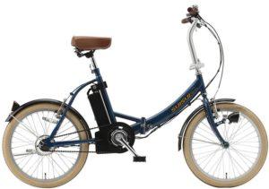 SUISUI(スイスイ) 電動自転車 KH-DCY310 ネイビー 20インチ 折りたたみ変速なし 28431-4323