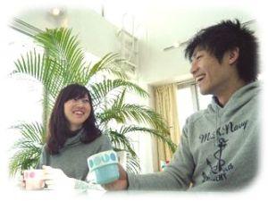 カフェで初デート