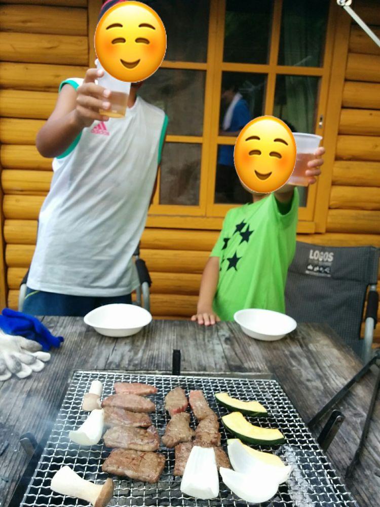 塩塚高原キャンプ場 BBQ