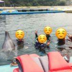 四国旅行2日目午前(日本ドルフィンセンターでイルカと泳ぐ)