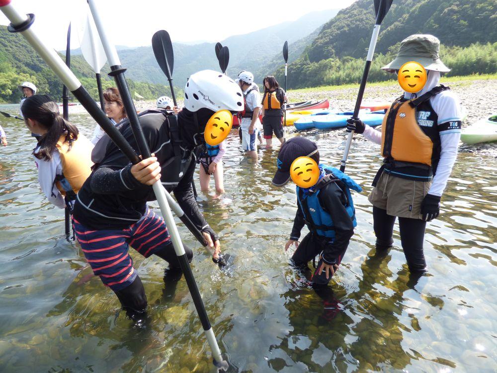四万十川 カヌー 水温
