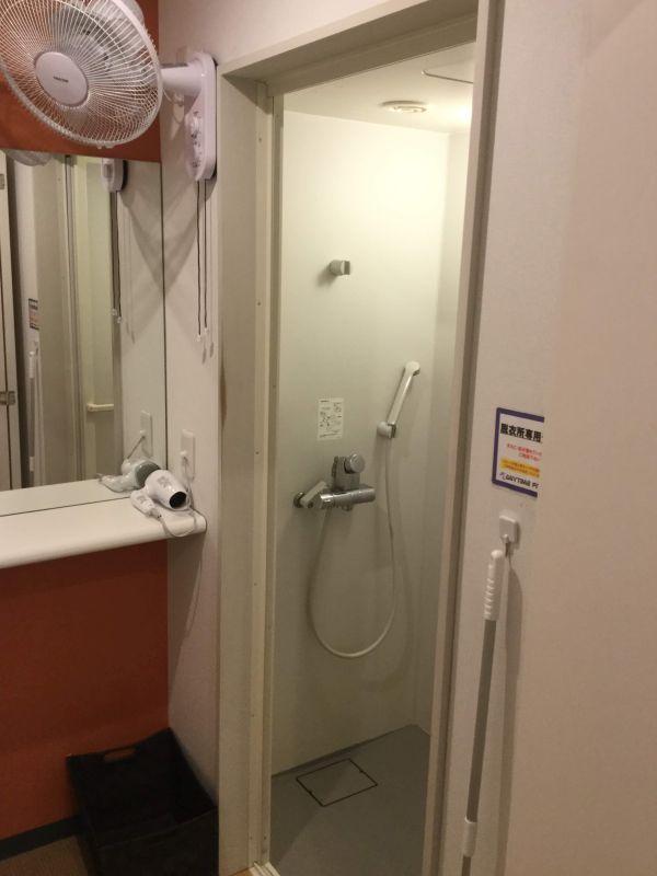 エニタイムフィットネス高砂店 シャワールーム