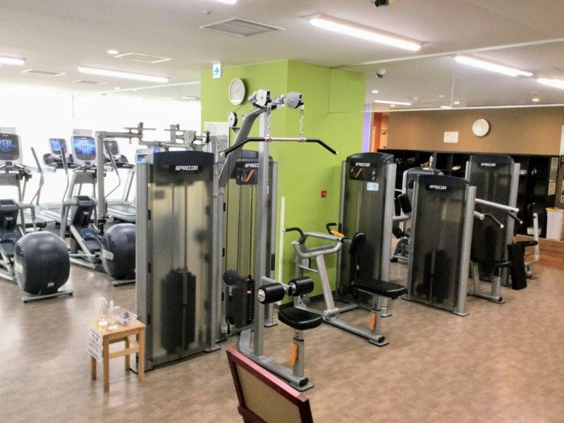 エニタイムフィットネス平尾店 トレーニング機器
